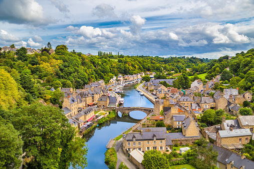 istock Historic town of Dinan, Bretagne, France 500429158
