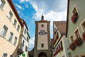 istock Historic town of Rothenburg ob der Tauber, Franconia, Bavaria, Germany 1064618522