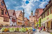istock Historic town of Rothenburg ob der Tauber, Franconia, Bavaria, Germany 1135112927