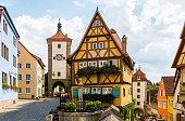 istock Historic town of Rothenburg ob der Tauber, Franconia, Romantic road, Bavaria, Germany. 1069858696