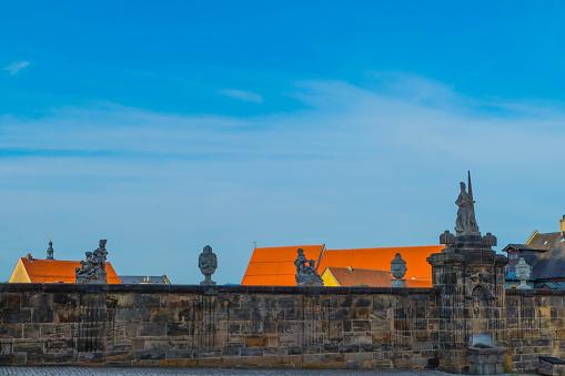 Historic Town Wall Bamberg Germany