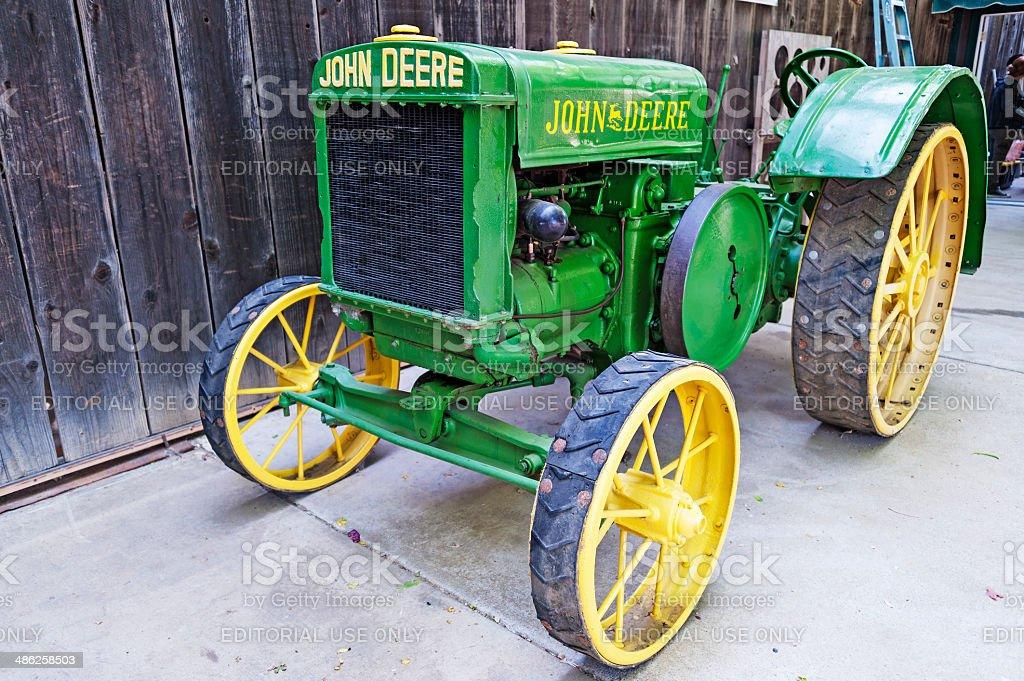 Historic Tractor stock photo