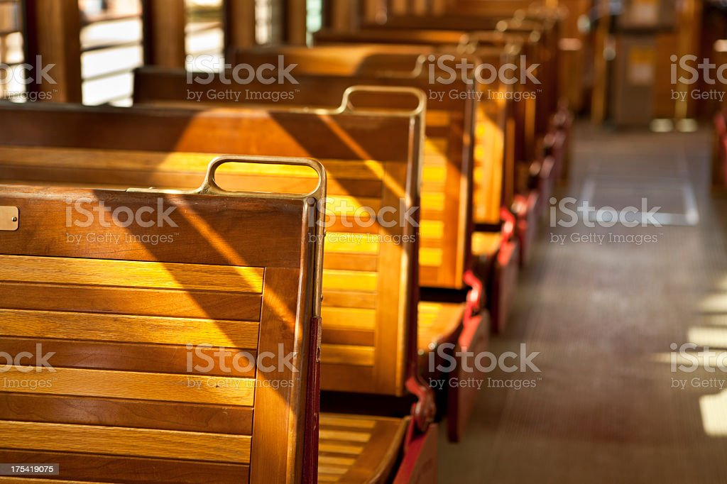 Historic tram car in Tampa Florida royalty-free stock photo