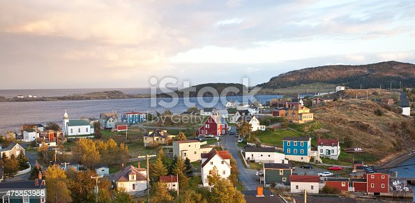 A quaint fishing village in Newfoundland, Canada. Trinity is one of the best preserved fishing villages on