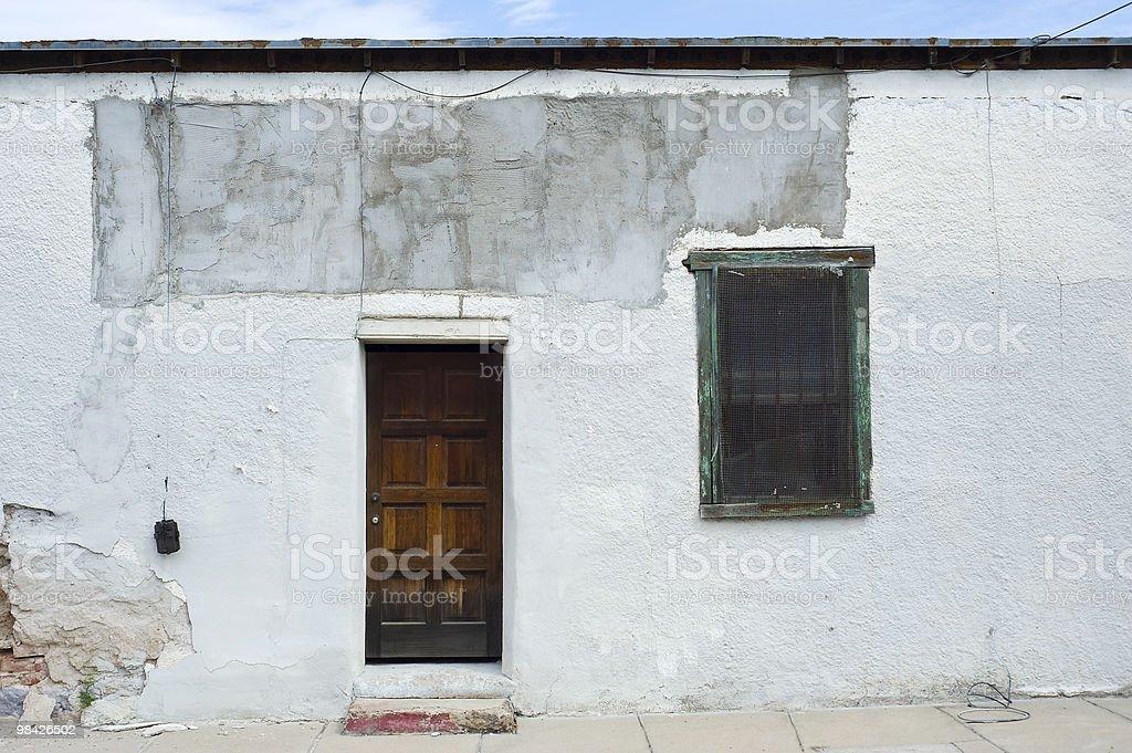Historic Tucson Barrio royalty-free stock photo