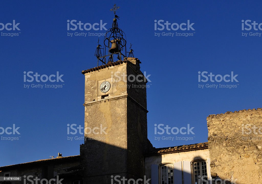 Historic Wach, Menerbes, Provence, France stock photo