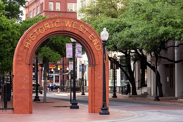 Historisches Westende Viertel im Dallas – Foto