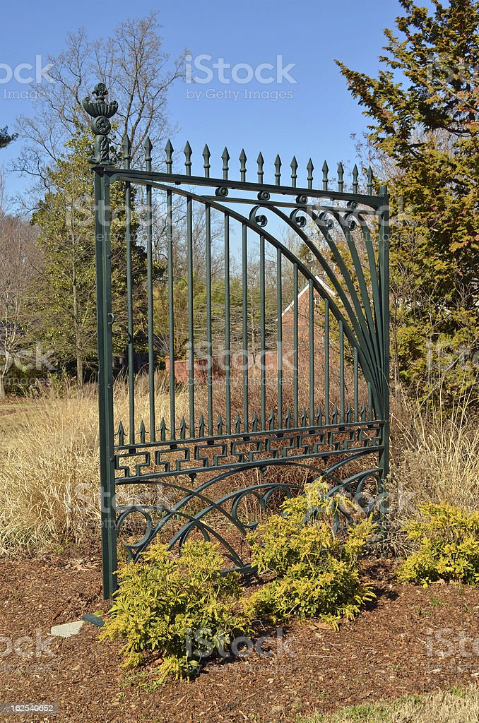 Historic White House Gate royalty-free stock photo