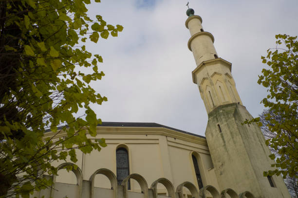 Historische arabische Moschee in Brüssel, Belgien – Foto