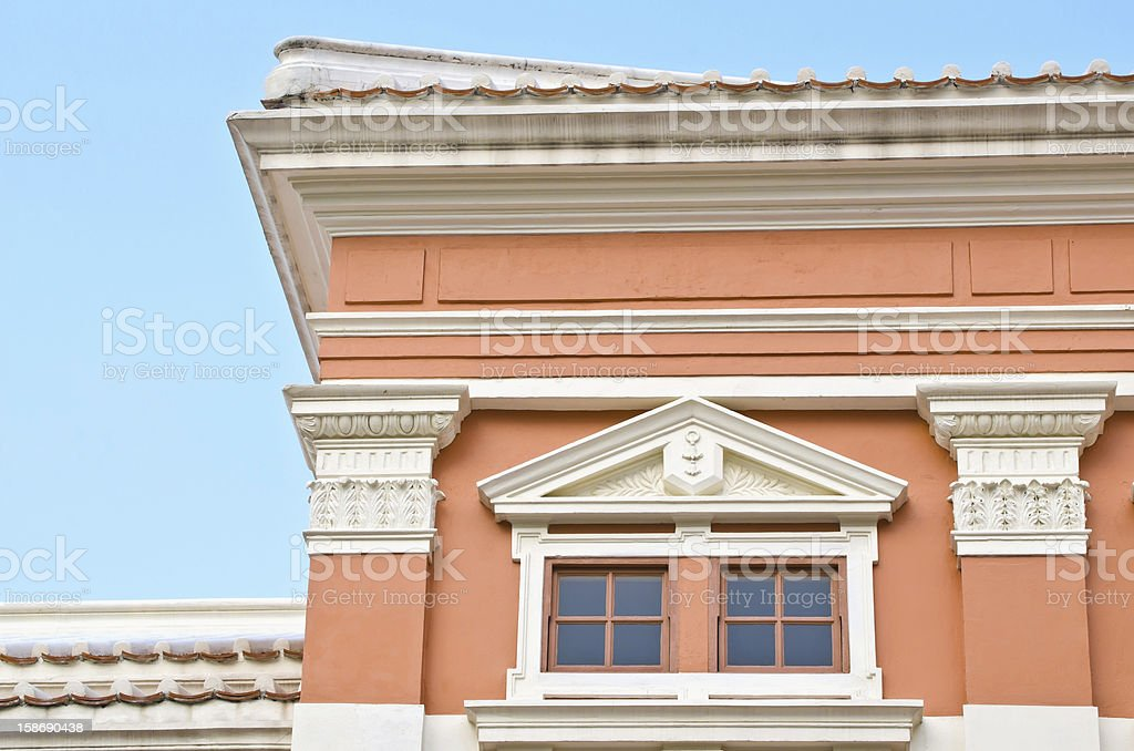 historical  architectural detail royalty-free stock photo