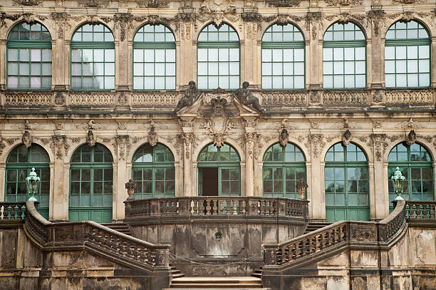 historical Baroque building of Zwinger Palace in Dresden historical Baroque building of Zwinger Palace in Dresden ,germany. zwanger stock pictures, royalty-free photos & images