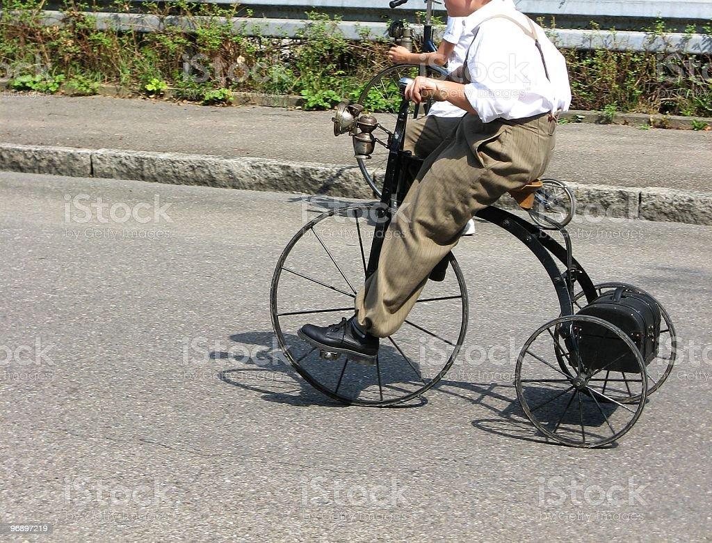Historical bike royalty-free stock photo