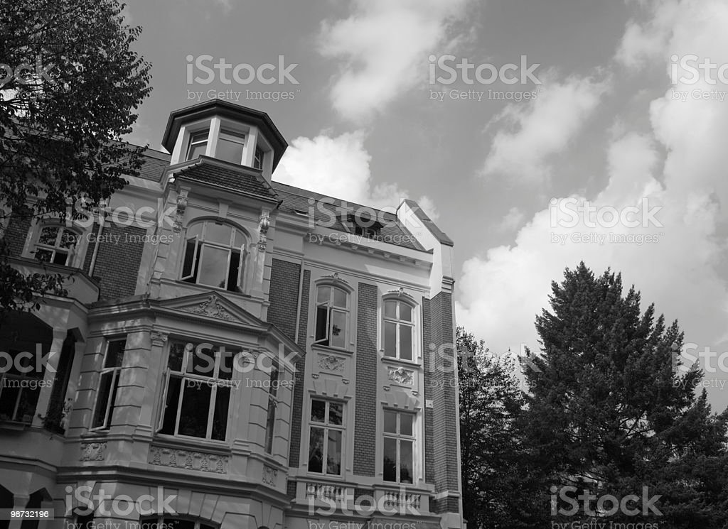 Historical building, L?neburg royalty-free stock photo