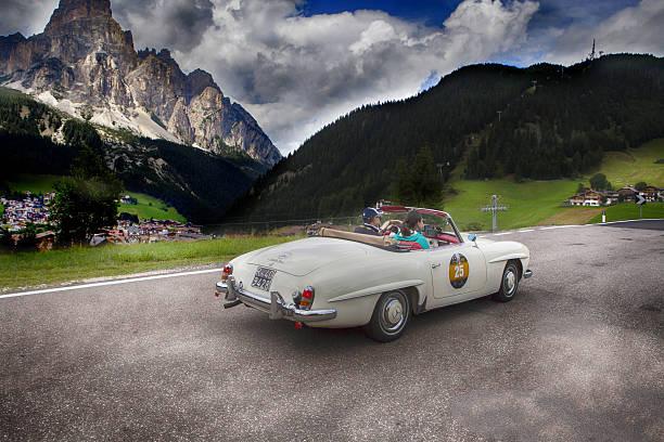 Historische Auto auf Dolomiti Gold cup – Foto