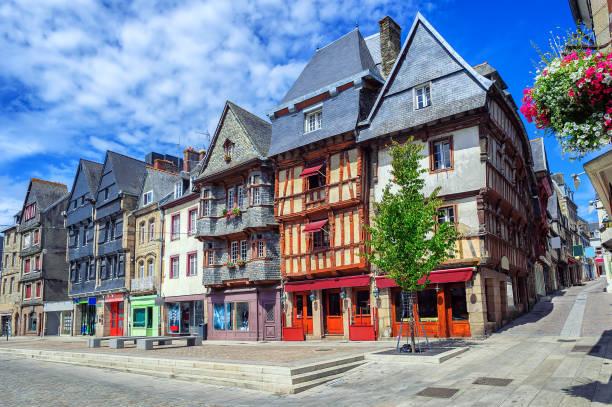 Centre historique de Lannion, Bretagne, France - Photo