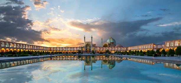 Historic city square of Isfahan known as Naqshejahan Square or Imam Square, Iran