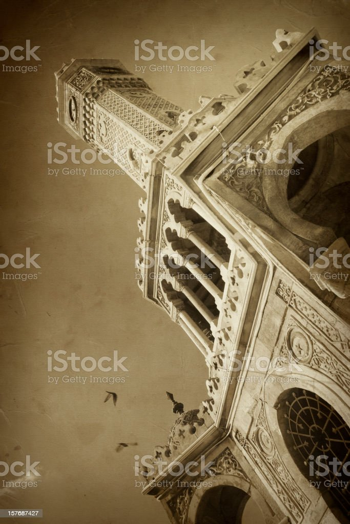 Historical Clock Tower royalty-free stock photo
