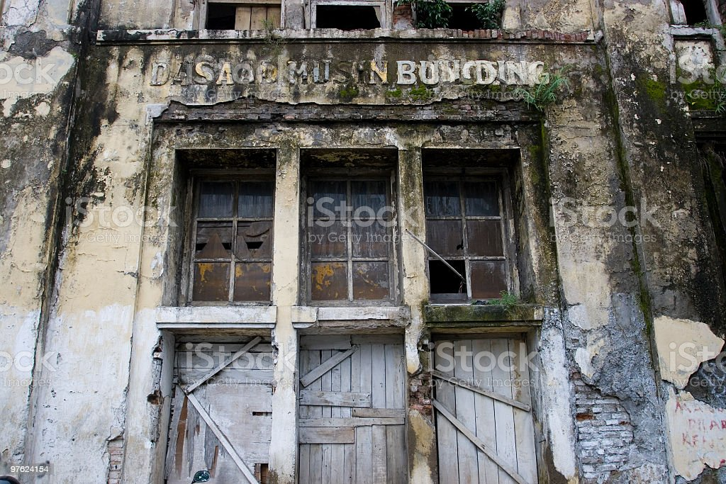 Historical colonial building in Jakarta royalty-free stock photo