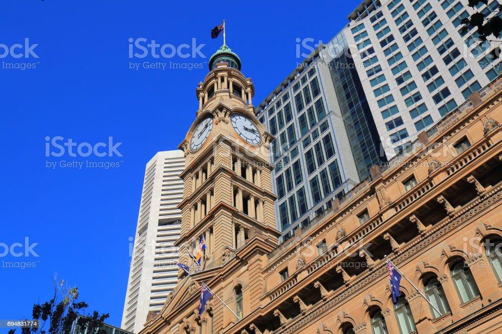 Historical GPO building Sydney Australia stock photo