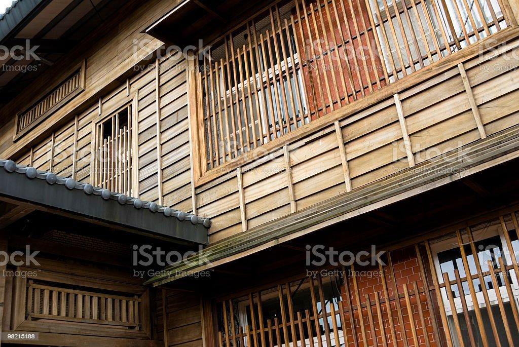 Casa in stile giapponese storico foto stock royalty-free