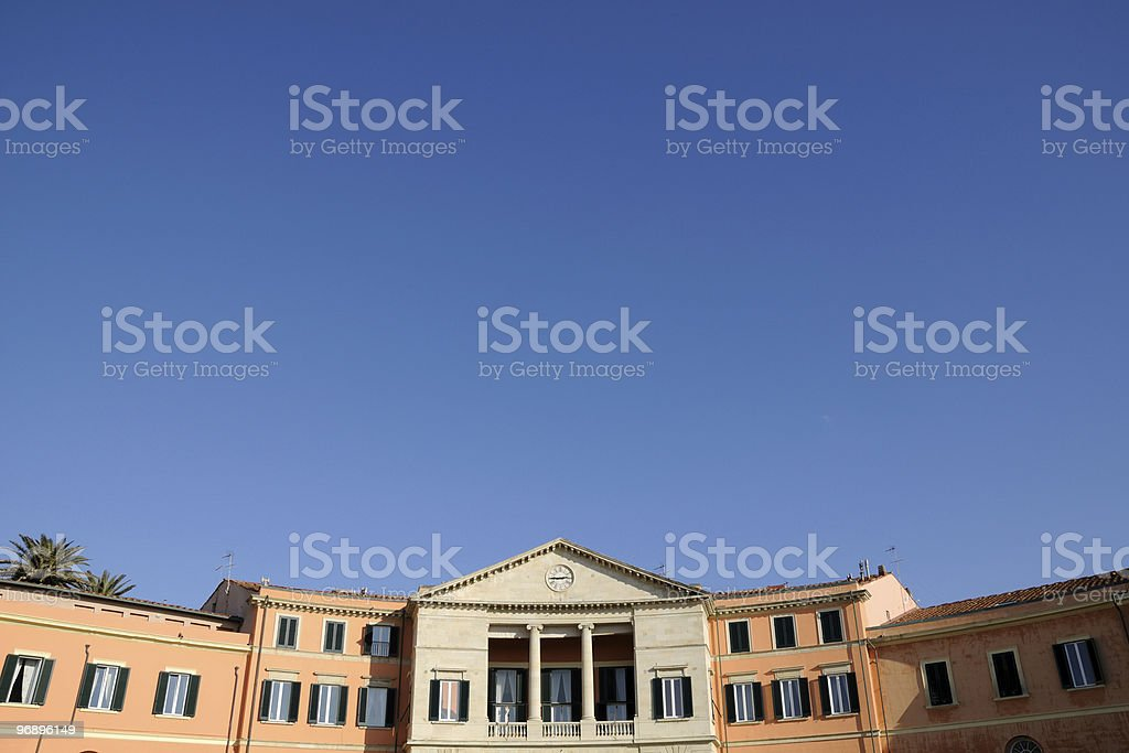 Historical houses royalty-free stock photo