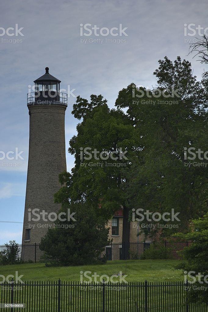 Historical Lighthouse stock photo