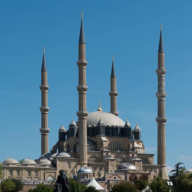 historische-moschee - selimiye moschee stock-fotos und bilder
