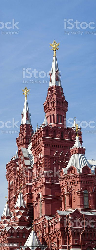 Historical Museum in Moscow royalty-free stock photo