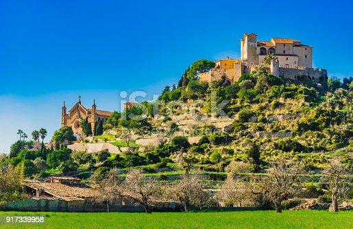 istock Historical old town of Arta on Majorca island, Spain 917339958