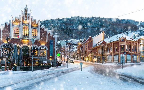 Quartier historique de Bergen - Photo