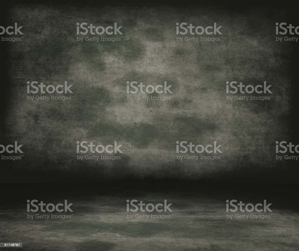Historical prison wall concept. stock photo