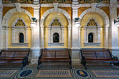 istock Historical Railway Station of Dunedin, New Zealand 1214831742