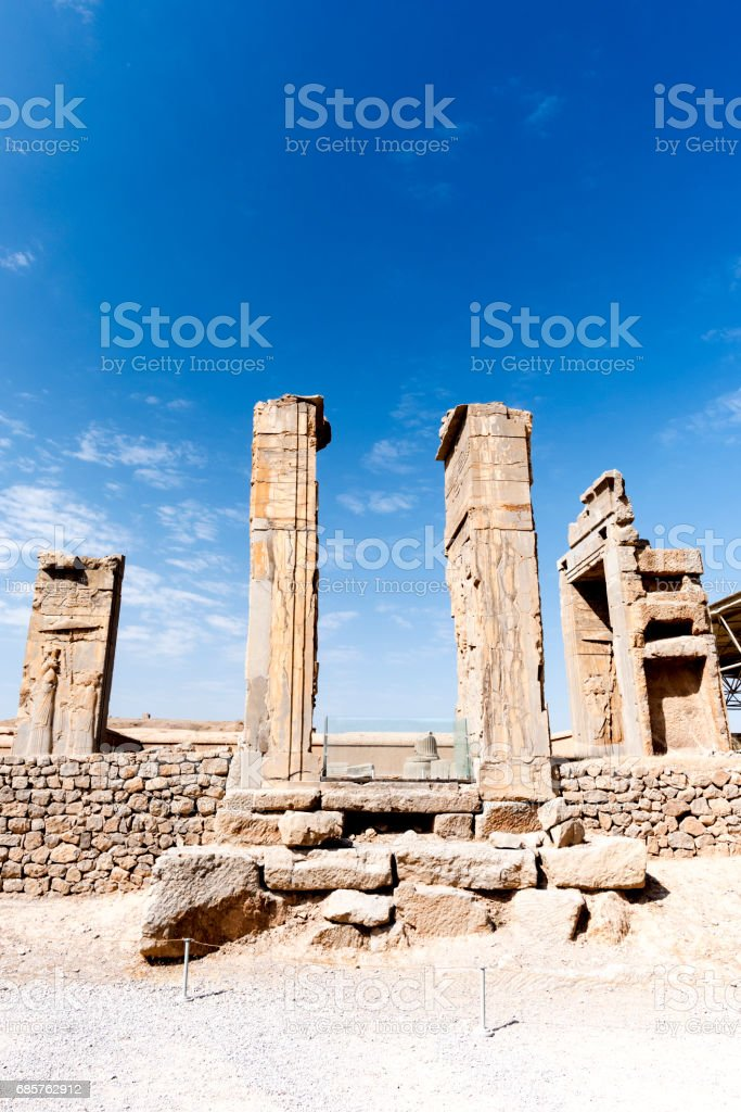 Historical Ruins At Persepolis In Shiraz Iran Stock Photo Download Image Now Istock