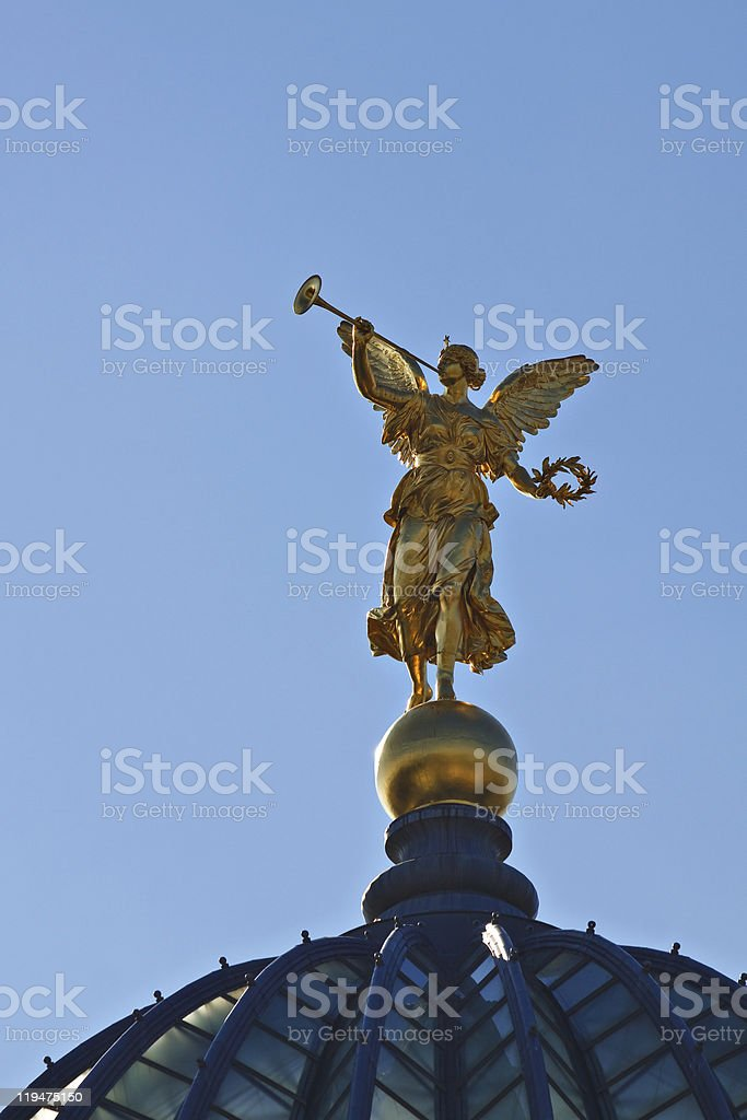 Historical statue stock photo