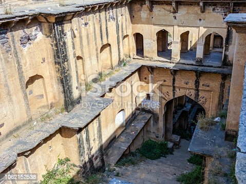 A Stepwell from 15th century located in Neemrana, Rajasthan. It is fmaousely known as