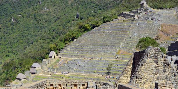 坦波的歷史遺跡--安第斯山脈印加帝國的首都和中心。這裡的遊客來自世界各地。圖像檔