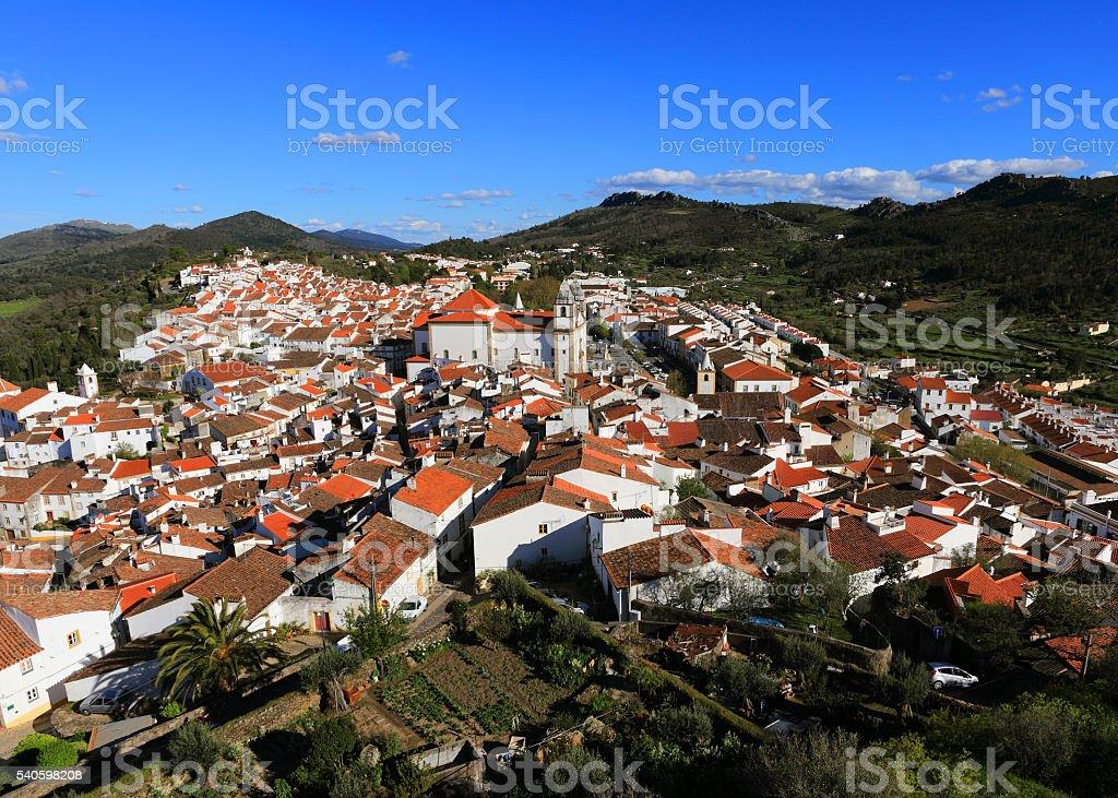 Historische Stadt Castelo de Vide, Portalegre, Alentejo, Portugal – Foto