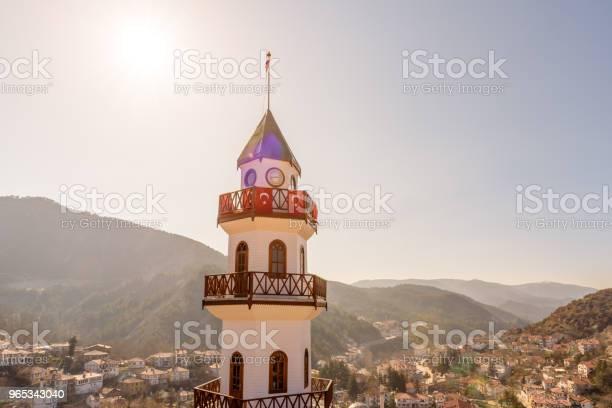 볼 루에서 Goynuk의 상단에 언덕에 역사적인 승리 탑 0명에 대한 스톡 사진 및 기타 이미지