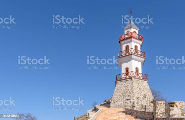 Historyczna Wieża Zwycięstwa Na Wzgórzu Na Szczycie Miasta Goynuk W Bolu - zdjęcia stockowe i więcej obrazów Anatolia
