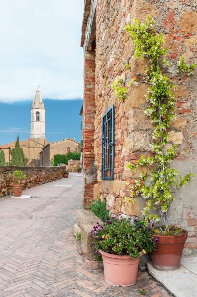 Historisches Dorf Pienza Toskana, Italien – Foto