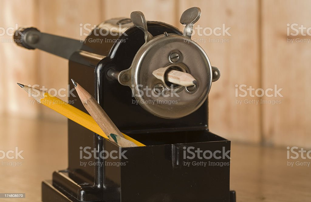 historical writing utensils royalty-free stock photo