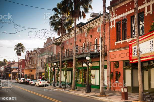 Historical Ybor City In Tampa Bay Florida Usa Stock Photo - Download Image Now