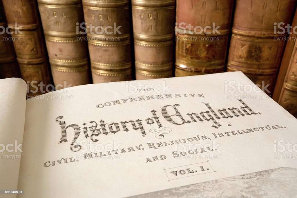 History of England royalty-free stock photo