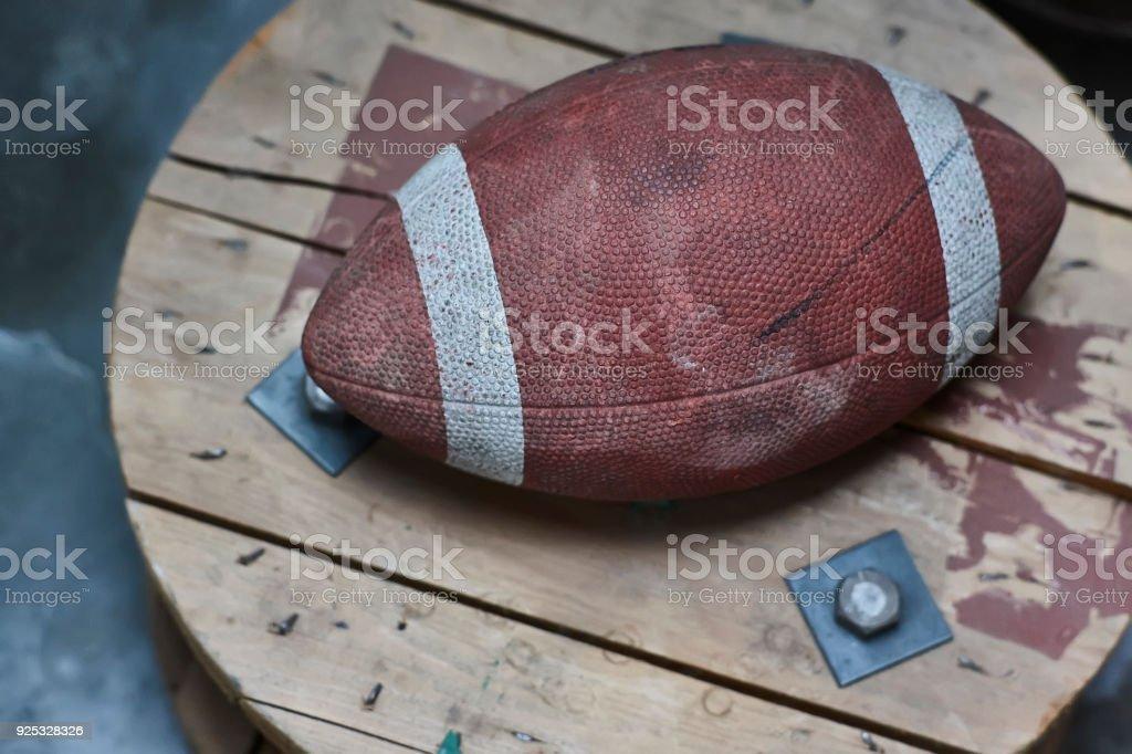History of football stock photo
