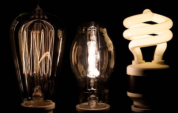History of light stock photo