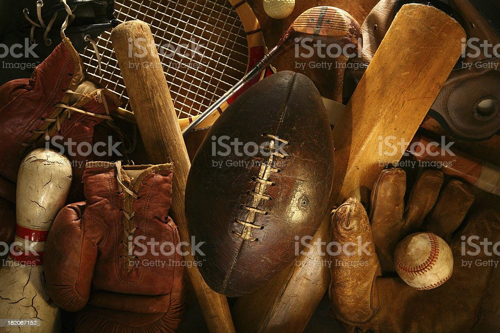 History of Sports royalty-free stock photo