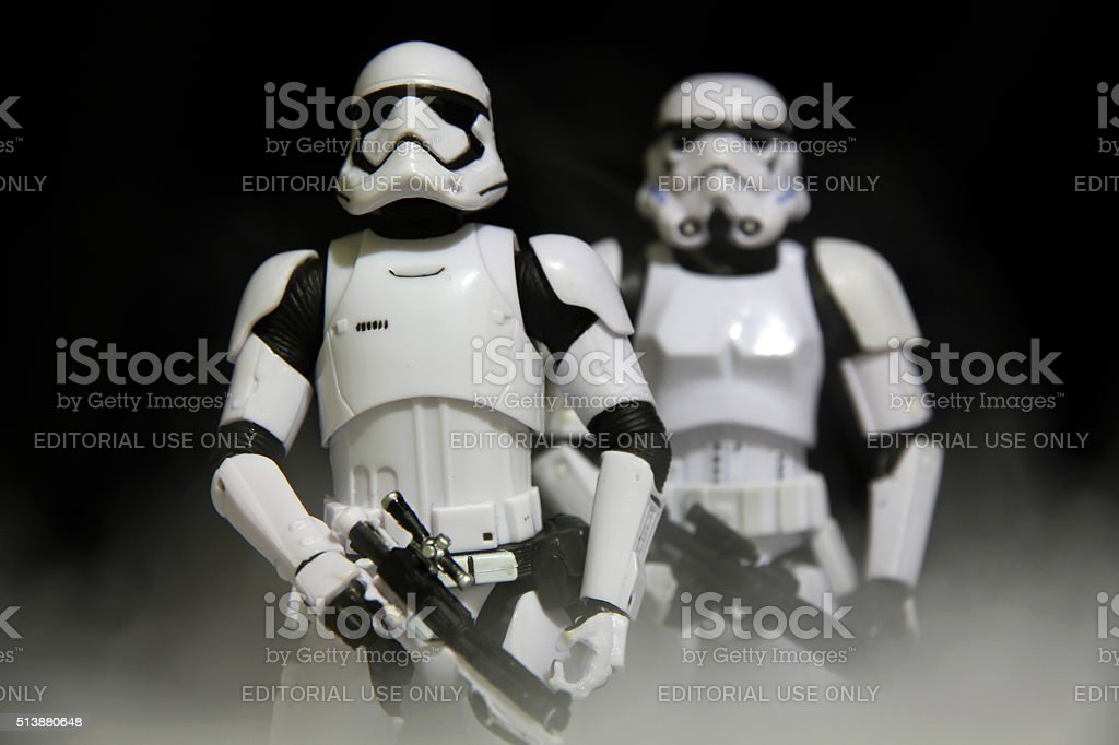History of Stormtrooping stock photo