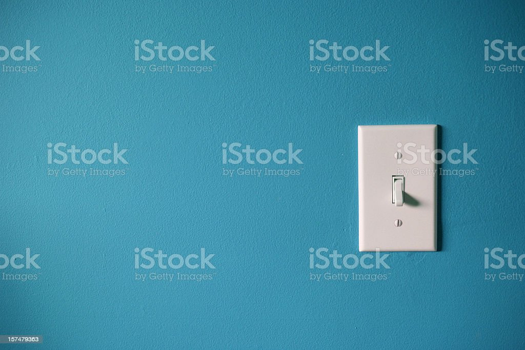 Hit the lights stock photo