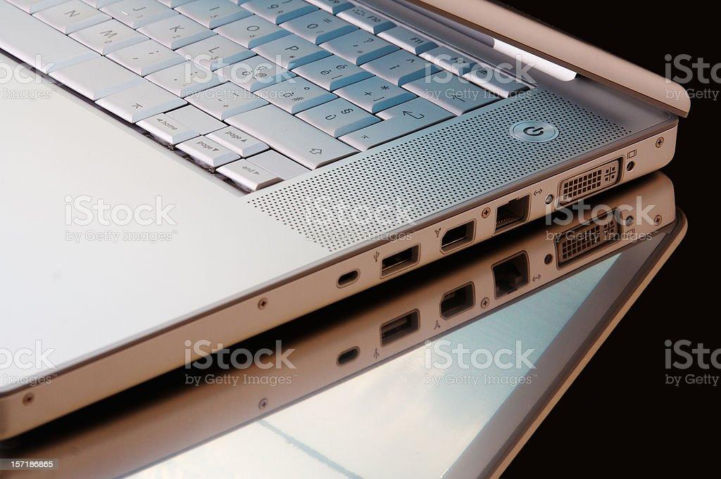 Hi-tech desk royalty-free stock photo