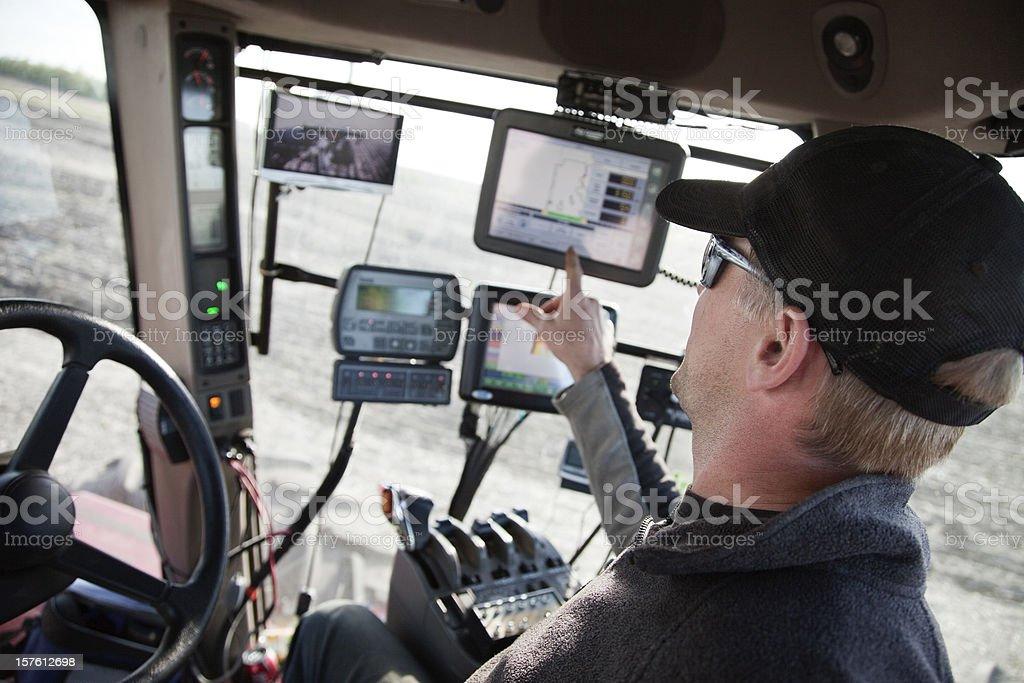 Hi-Tech Farming bildbanksfoto